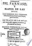 Coronas del Parnaso, y Platos de las musas