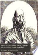 Coronas heráldicas, líricas y épicas en loor de D. Alvaro de Bazán