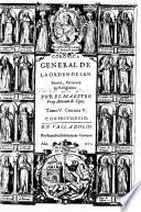 Coronica general de la Orden de San Benito, Patriarca de Religiosos ... Tomo I. Centuria I. [-Tomo VII. Centuria VII.]