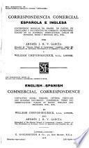 Correspondencia comerical español e inglesa ...