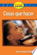 Cosas que hacer (Things to Do): Upper Emergent (Nonfiction Readers)