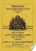 Creación, antigüedad y privilegios de los títulos de Castilla