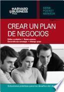 Crear un plan de negocios