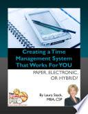 Creating a Time Management System That Works for YOU