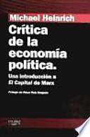 Crítica de la economía política : una introducción a El capital de Marx