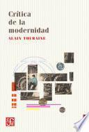 Crítica de la modernidad
