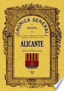 Crónica de la provincia de Alicante