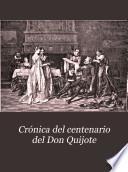 Crónica del centenario del Don Quijote