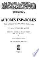 Crónica general de la Orden de San Benito