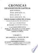 Cronicas de los Reyes de Castilla, 1