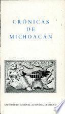 Cronicas de Michoacan