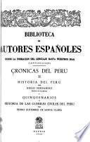 Crónicas del Perú