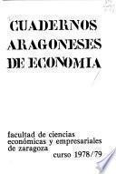 Cuadernos aragoneses de economía