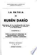 Cuadernos de divulgación de la obra de Darío para la instrucción pública ...