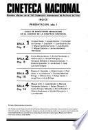 Cuadernos de programación de la Cineteca Nacional