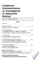 Cuadernos interamericanos de investigación en educación musical