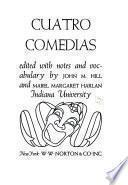 Cuatro comedias