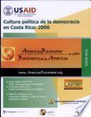 Cultura política de la democracia en Costa Rica