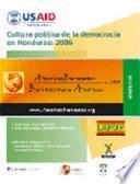 Cultura política de la democracia en Honduras, 2006