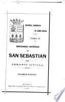 Curiosidades históricas de San Sebastián