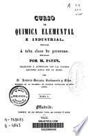 Curso de química elemental e industrial