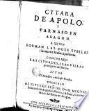 Cytara de Apolo, i Parnaso en Aragón