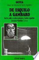 De Esquilo a Gambaro