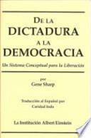 De la Dictadura de la Democracia