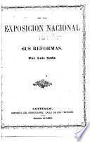 De la exposición nacional i de sus reformas