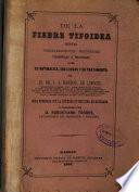 De la fiebre tifoidea