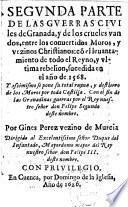 De las guerras civiles de Granada, y de los crueles vandos ...
