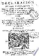 Declaracion de los verdaderos diez y siete secretos de Curvo, de la incertidumbre de los publicados por el Doctor Rivera, y de algunos errores, que sobre otros secretos de Curvo cometió el Doctor Cortijo