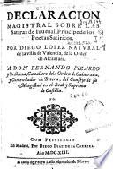 Declaracion magistral sobre las satiras de Iuuenal, principe de los poetas satiricos