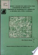 Deficion Y Analisis Del Marco Legal Para Concesiones de Productos Forestales No Maderables en la Reserva de la Biosfera Maya, Peten, Guatemala
