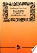 Del estilo a la estructura en la novela de Fernán Caballero