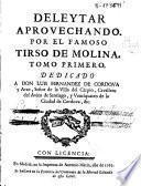 Deleytar aprovechando: El colmenero divino (pp. 175-203) ; Los hermanos parecidos (pp. 456-482)