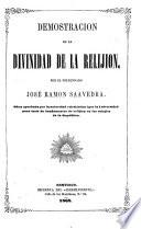Demostracion de la divinidad de la relijion