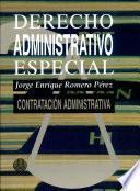 Derecho administrativo especial