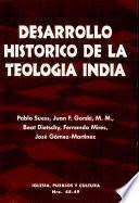 Desarrollo histórico de la teología india