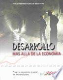 Desarrollo Mas Alla de la Economia