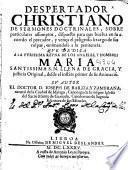 Despertador christiano de sermones doctrinales ...