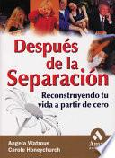 DESPUES DE LA SEPARACION