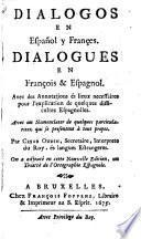 Dialogos en español y françes