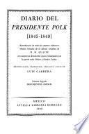Diario del presidente Polk, 1845-1849