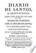 Diarium sanctorum seu Meditationes in singulos anni dies