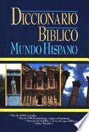 Diccionario Biblico Mundo Hispano