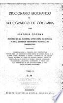 Diccionario biográfico y bibliográfico de Colombia