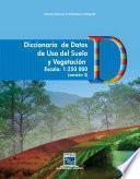 Diccionario de datos de Uso del Suelo y Vegetación. Escala 1:250 000. Versión 3