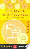 Diccionario de dificultades de la lengua española