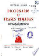 Diccionario de frases rimadas